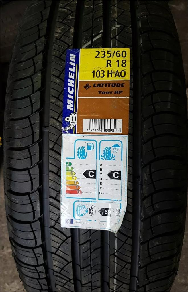 BRAND NEW MICHELIN LATTITUDE SPORT 3 TYRE AO 235 60 18 103H(FREE NATIONWIDE DELIVERY)