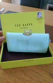 Ted baker purse with box **pretty mint green**