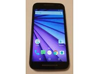 MOTOROLA MOTO G 3RD GEN 4G **UNLOCKED ANY SIM** Android smartphone