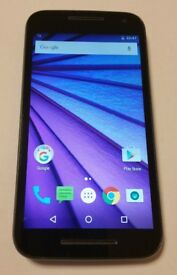 MOTOROLA MOTO G 3RD GEN 4G **UNLOCKED ANY NETWORK ** HD Android sma