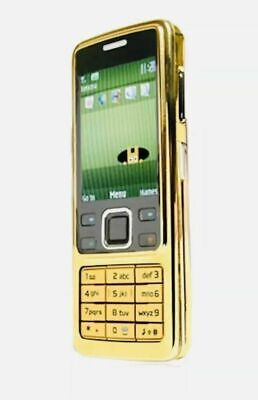 Nokia 6300 - Gold (Unlocked) Mobile Phone-warranty-free and first post.