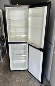 Black Hoover Nice Fridge Freezer (Fully Working & 3 Month Warranty)