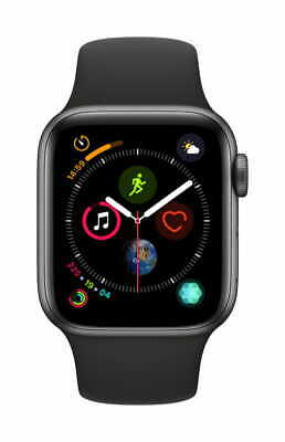 Apple Watch Gen 4 Series 4 Cell 40mm Space Gray Aluminum - Black Sport Band