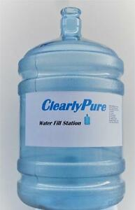 WATER STATION,CLEARLYPURE SPRING FED WATER FOR DRINKING COOKING, HOME & BUSINESS. SAFE HEALTHY PURIFIED REVERSE OSMOSISS