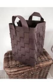 XL Brown Felt Basket