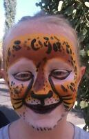 Dragon Paw Lady Face Painting