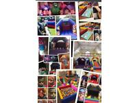 Bouncy castle hire face painting ,soft play hire ,sensory dome ,popcorn kart