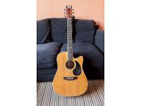 Tanglewood Electro Acoustic Dreadnought TFCA-E Guitar