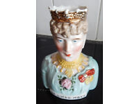 H.M QUEEN MARY TOBY JUG IN EXCELLANT CONDITION