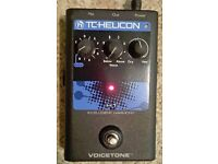 TC HELICON VoiceTone H1 Intelligent Harmony Stompbox (Harmonizer) - looks as-new