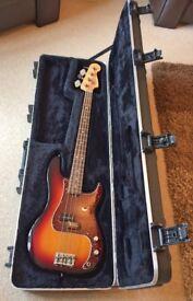 Fender USA Precision Bass Guitar & Original Fender Flight Case