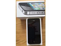 IPHONE 4S UNLOCKED IN EXCELLENT CONDITION WITH ORIGINAL BOX