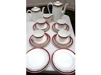 Myott Royalty pattern tea and coffee set