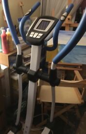 Electromagnetic Cross Trainer - in excellent condition, hardly used