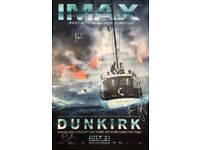 Signed Dunkirk IMAX Poster