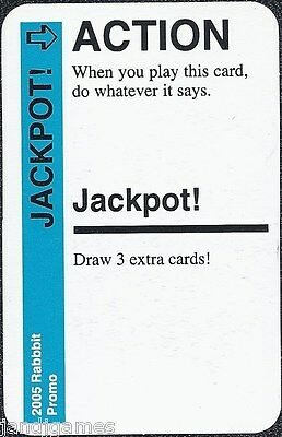 "FLUXX CARD GAME /""Jackpot/"" promo card Looney Labs NEW"