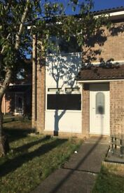 two bedroom house @ frome , holbury close . available now !