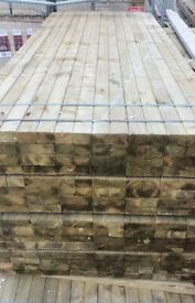 3x2 treated wood timber 3.0m/3.6m/4.8m brand new can deliver