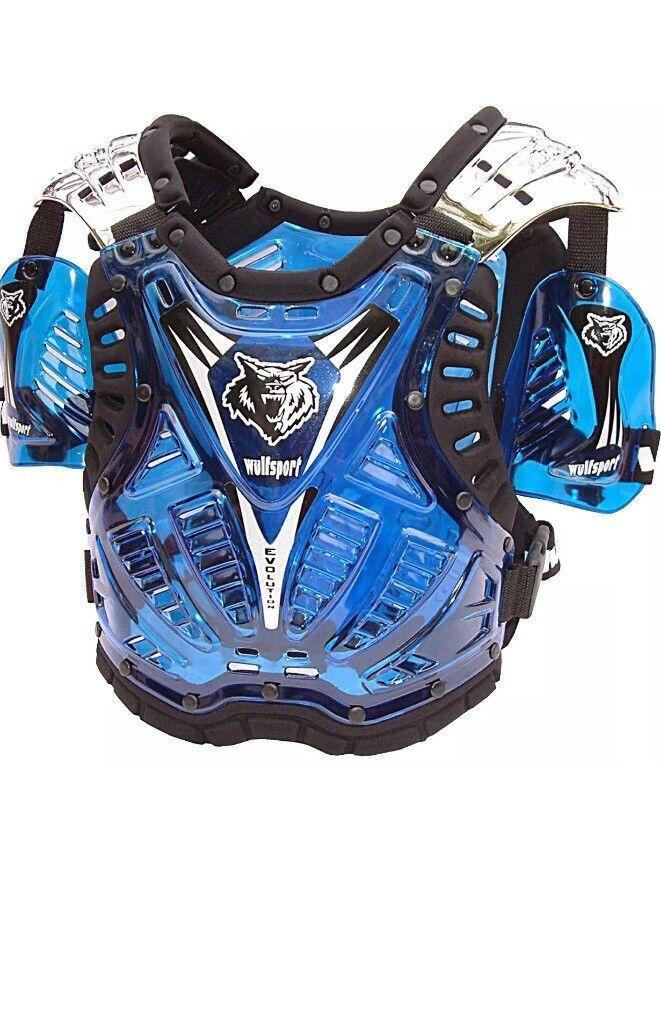 Wulfsport motorcross body armour jacket
