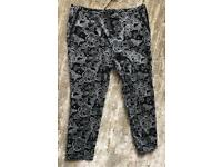 Ladies Capri pants with butterfly design BNWL