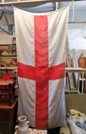 Vintage St George's flag