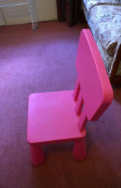 Pink Small Chair/ Stool for Children