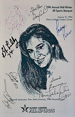 1994 PROGRAM Signed Bob Lilly,Gary Carter,Nancy Lieberman-Cline PLUS 5  COA