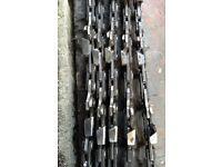 5x Stihl 50 link chainsaw chain. 14 inch. Depth gauge 3.