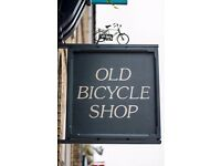 Old Bicycle Shop is looking for you to join our busy bar & restaurant! Excellent pay and tips