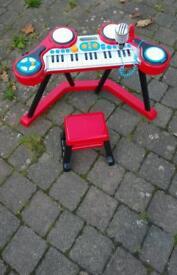Children toy piano