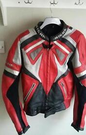 Richa leather motorbike motorcycle jacket