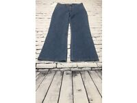 Womens BLUSH JEANS Size 14 Straight Leg Jeans - Blue - Full Length - 29in Leg | Free Delivery