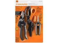 Fiscars pruning set. Brand new