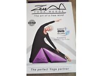 YOGA WEDGE BRAND NEW with DVD Workout