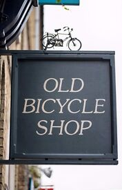 Old Bicycle Shop is hiring! Dynamic Chef de Partie wanted, £8.50 per hour & tips