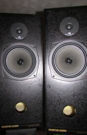 Monitor Audio R352 Speakers Black Collection Glasgow REAL H-FI