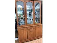 Display cabinet and matching sideboard available
