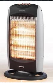 Brand new beldray halogen heater 1200watts