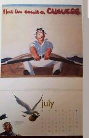 12 guinness calendar prints to frame