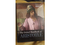 The Oxford Handbook of Aristotle - Hardback (New/Unused)