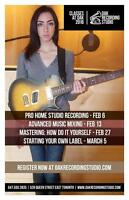 == Take Pro Mastering: How To Do It Yourself - Sat Feb 27th! ==