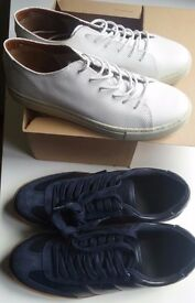 NEW! Unused 2x MANGO MAN casual shoes and extra pair CARLORASOLLI size 9 UK/43 EU. All for £40