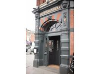 Bar Supervisor for immediate start at The Wheatsheaf SW17 - Live In if required
