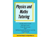 Physics and Maths Tutoring