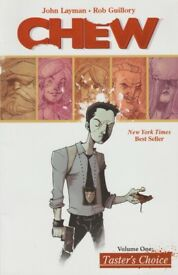 CHEW a comic book by John Layman & Rob Guillory