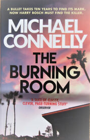 Michael Connelly THE BURNING ROOM paperback - NEW