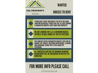 Houses Wanted for Rent