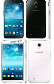 Brand New Unlocked Samsung Galaxy Mega 6.3 Inch 8gb Black And White Colour Fully Boxed Up