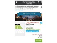 Richard Dawkins @ The Apollo, London - Oct 1st