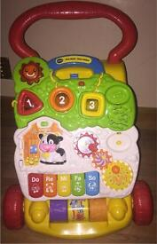 Vtech first steps baby walker toy activity music lights